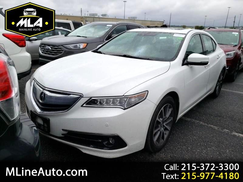 Acura TLX 9-Spd AT SH-AWD w/Advance Package 2017
