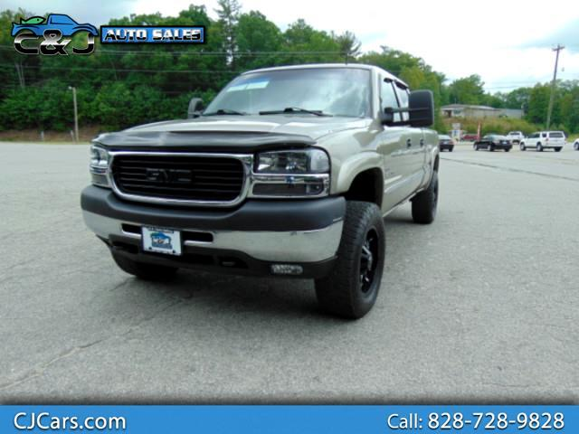 2002 GMC Sierra 2500HD SLE Crew Cab Short Bed 4WD