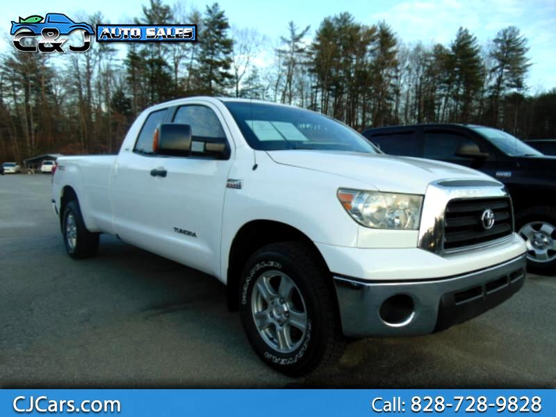 2008 Toyota Tundra SR5 Double Cab 5.7L Long Bed 4WD