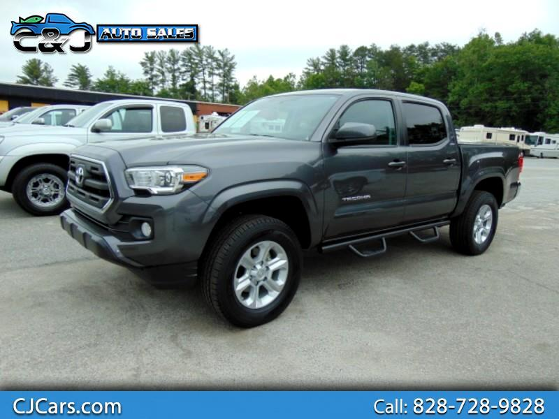 2016 Toyota Tacoma 4WD Double Cab V6 AT SR5 (Natl)