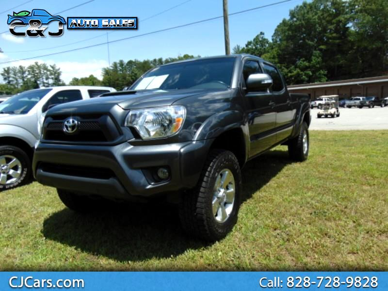 2015 Toyota Tacoma Double Cab Long bed V6 5AT 4WD TRD Sport