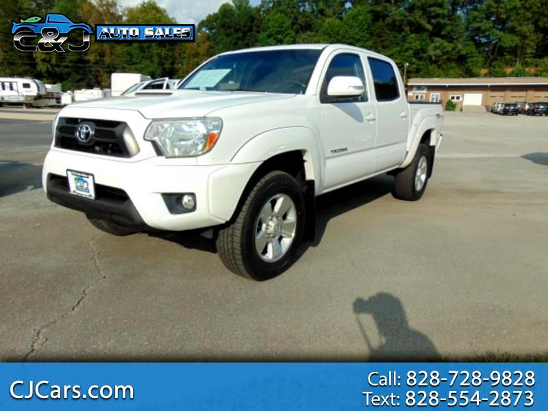 Toyota Tacoma 4WD Double Cab V6 MT TRD Off Road (Natl) 2014