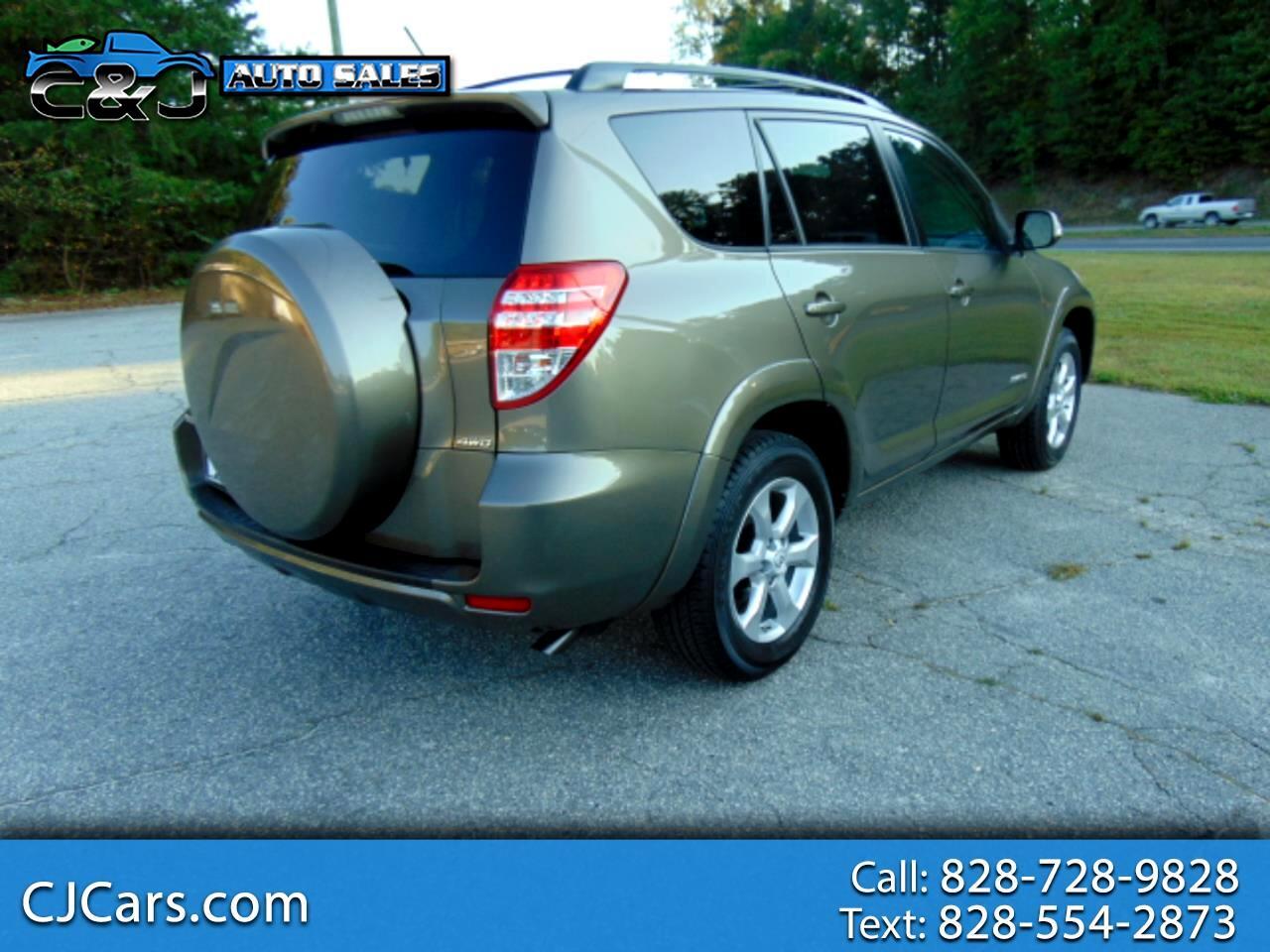 Toyota RAV4 Limited I4 4WD 2009