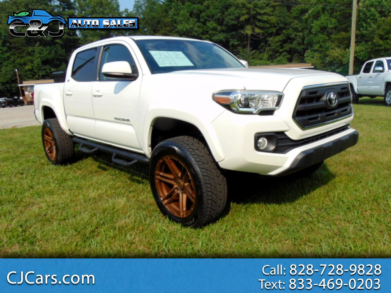 Toyota Tacoma SR5 Double Cab Long Bed V6 6AT 2WD 2017