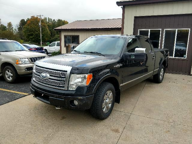 "2009 Ford F-150 4WD SuperCrew 157"" Platinum"