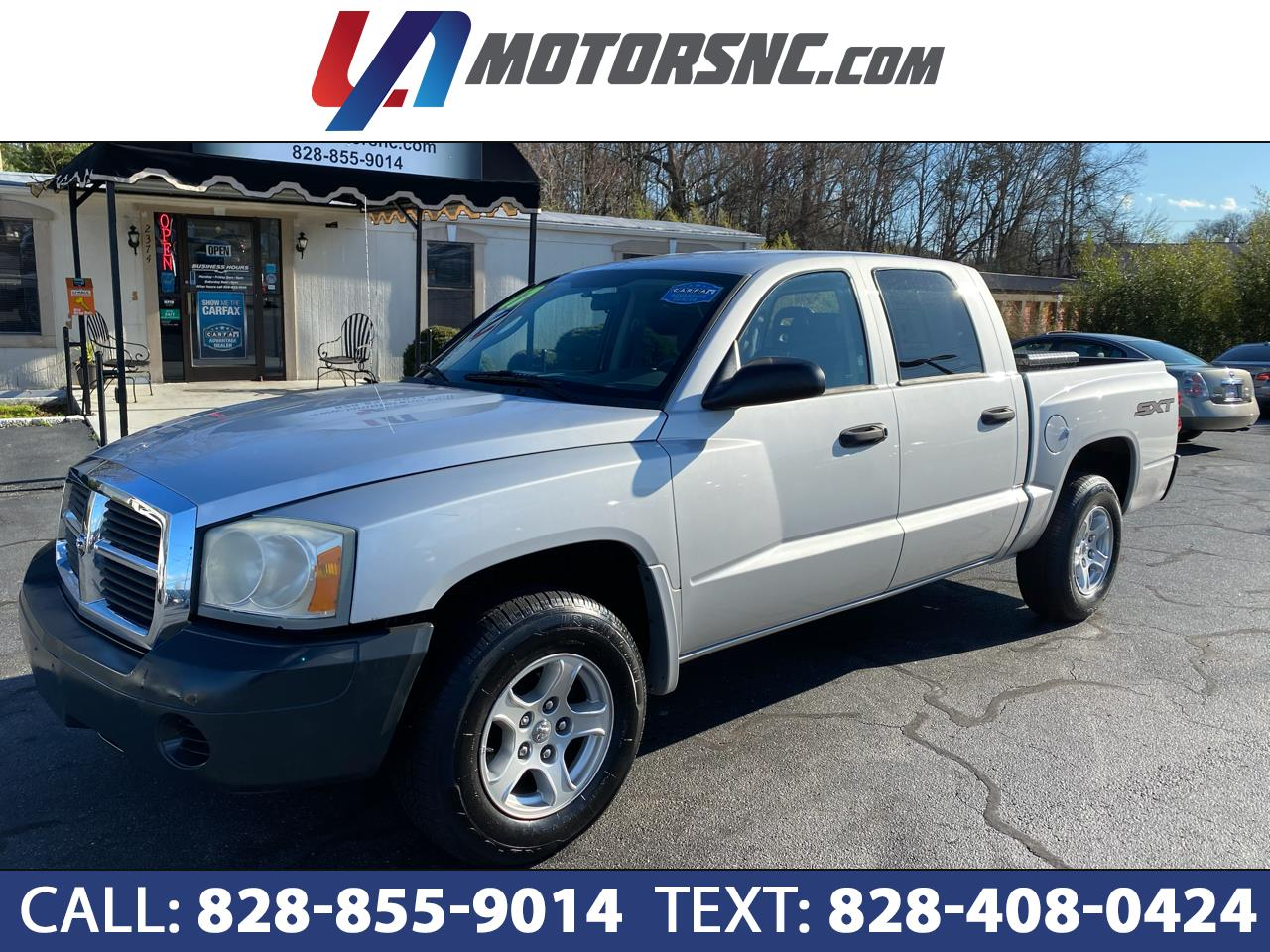 "Dodge Dakota 2WD Quad Cab 131"" ST 2007"