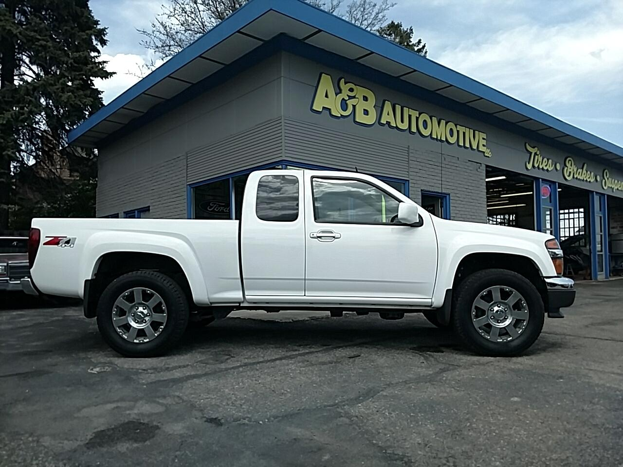 2012 Chevrolet Colorado 4WD Ext Cab LT w/2LT