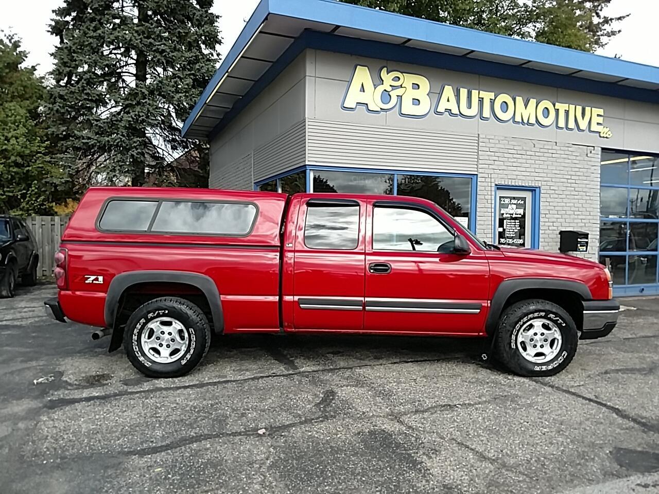 """2003 Chevrolet Silverado 1500 Ext Cab 143.5"""" WB 4WD LS"""
