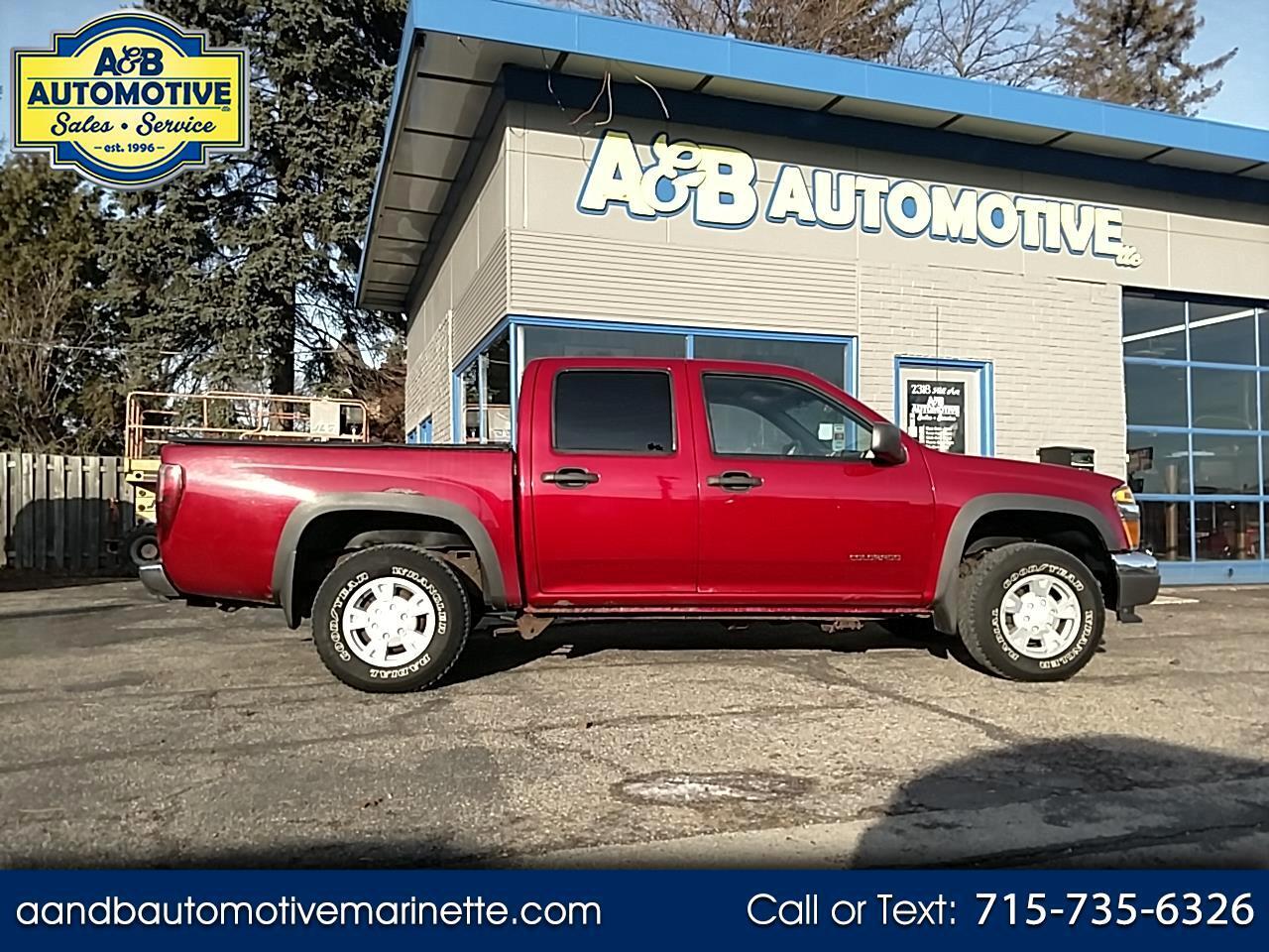 """2005 Chevrolet Colorado Crew Cab 126.0"""" WB 4WD 1SB LS Z85"""
