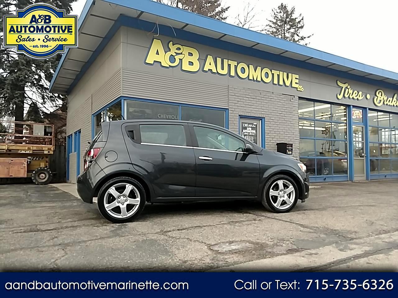 2014 Chevrolet Sonic 5dr HB Auto LTZ