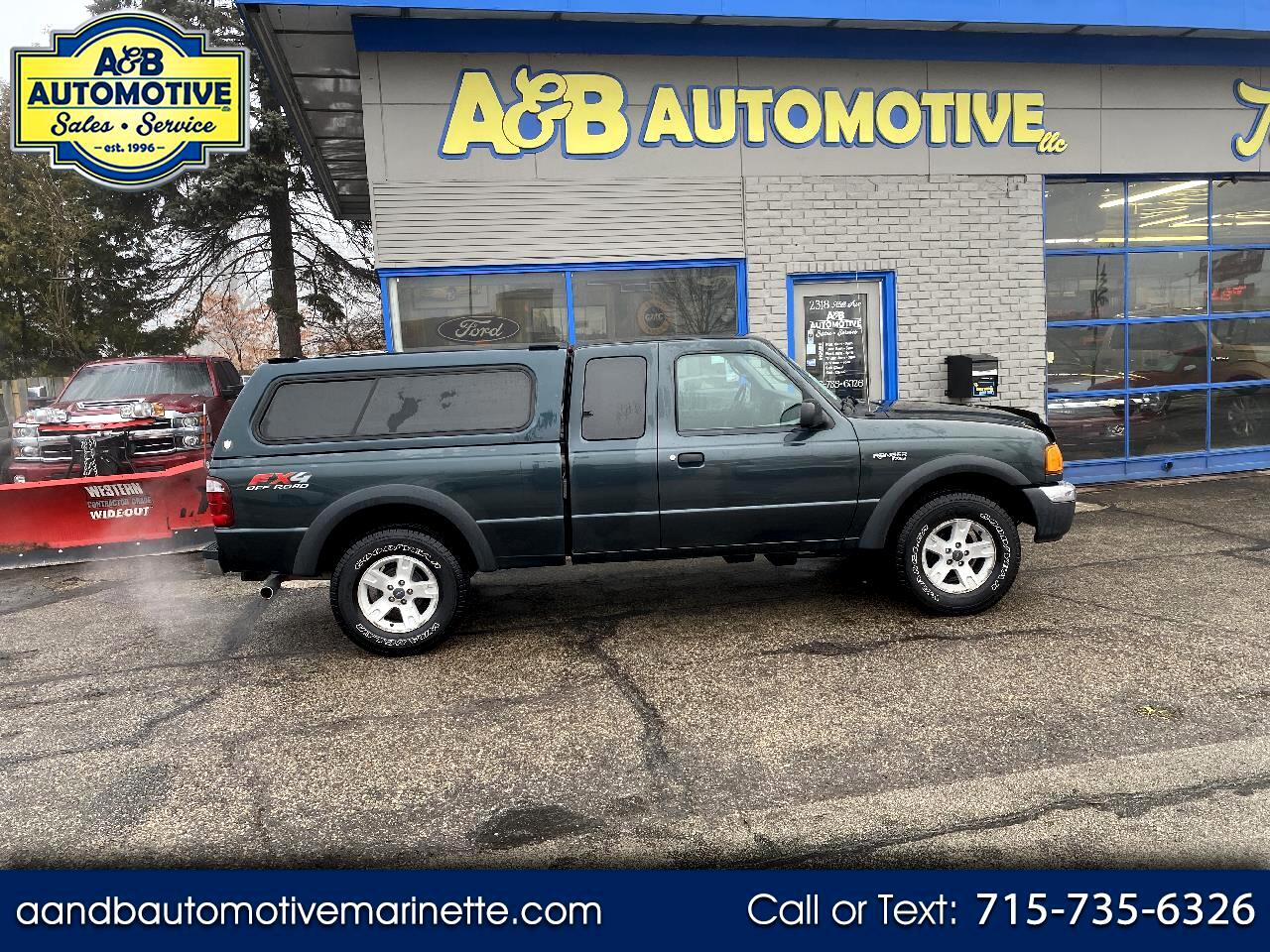 """2005 Ford Ranger 4dr Supercab 126"""" WB FX4 Lvl II 4WD"""