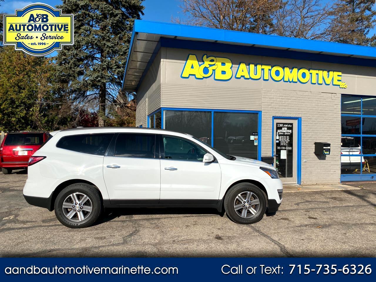 2017 Chevrolet Traverse AWD 4dr LT w/1LT