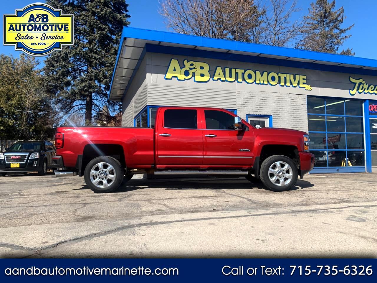 """Chevrolet Silverado 2500HD 4WD Crew Cab 153.7"""" High Country 2018"""