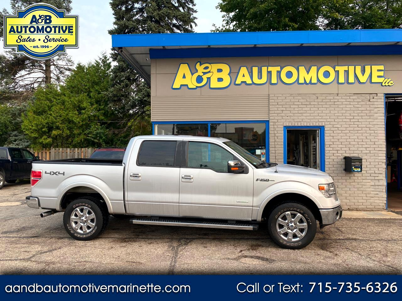 """Ford F-150 4WD SuperCab 163"""" Lariat 2013"""