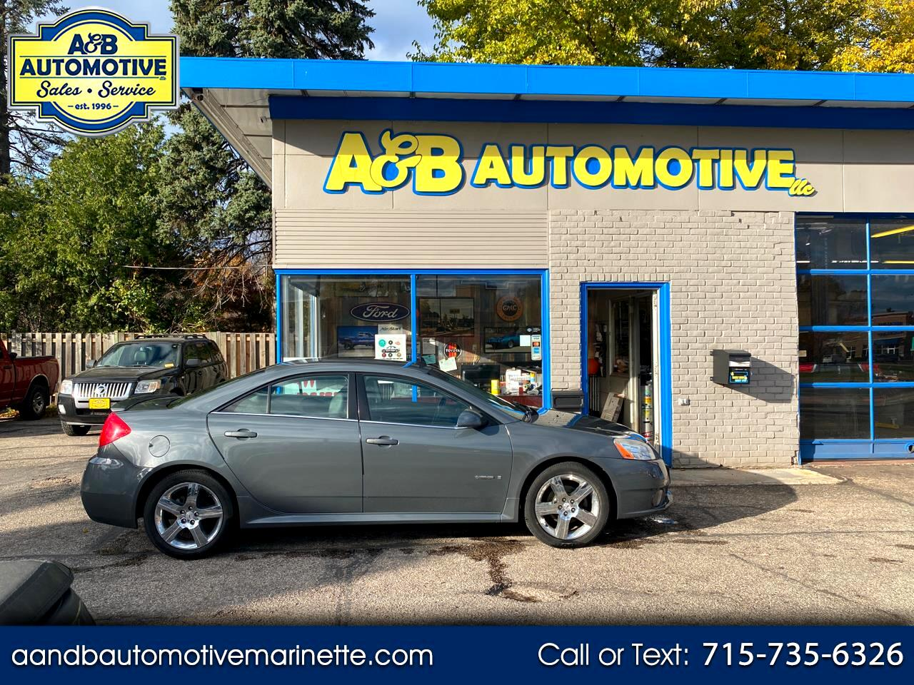Pontiac G6 4dr Sdn GXP w/1SA *Ltd Avail* 2009