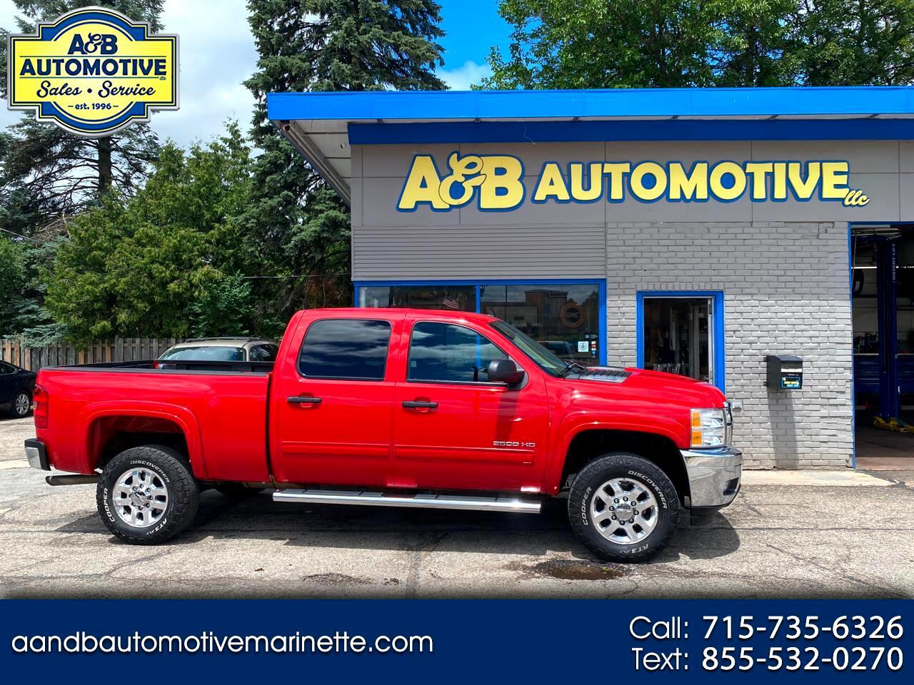 """Chevrolet Silverado 2500HD 4WD Crew Cab 153.7"""" LT 2012"""