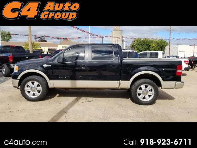 "2007 Ford F-150 SuperCrew 139"" King Ranch 4WD"