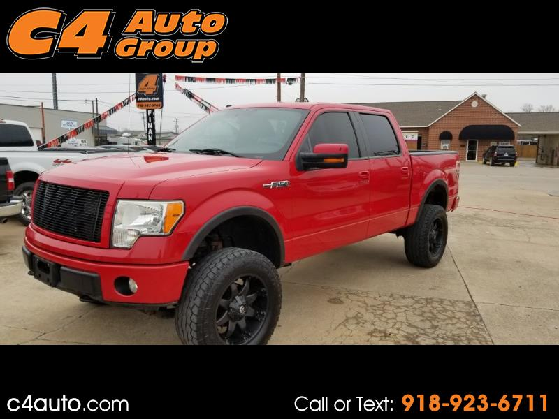 "2009 Ford F-150 4WD SuperCrew 157"" FX4"