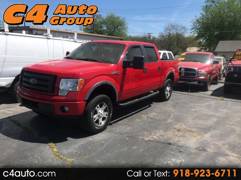 """2010 Ford F-150 4WD SuperCrew 139"""" FX4"""