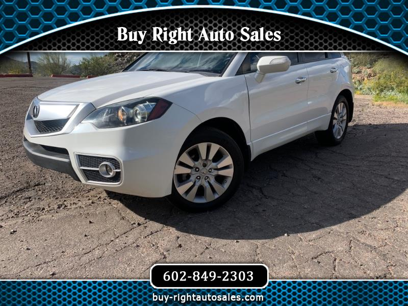 Acura RDX 5-Spd AT with Technology Package 2011