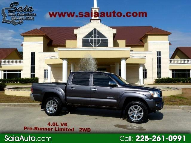 2013 Toyota Tacoma Limited Double Cab V6 6AT 2WD