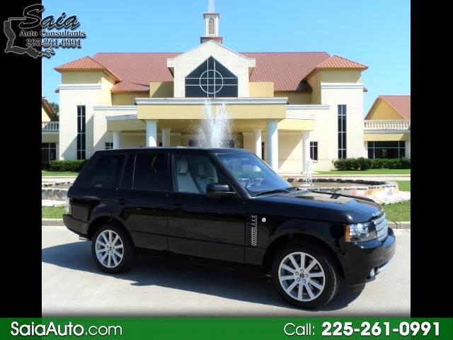 2012 Land Rover Range Rover HSE LUXURY SUPERCHARGED