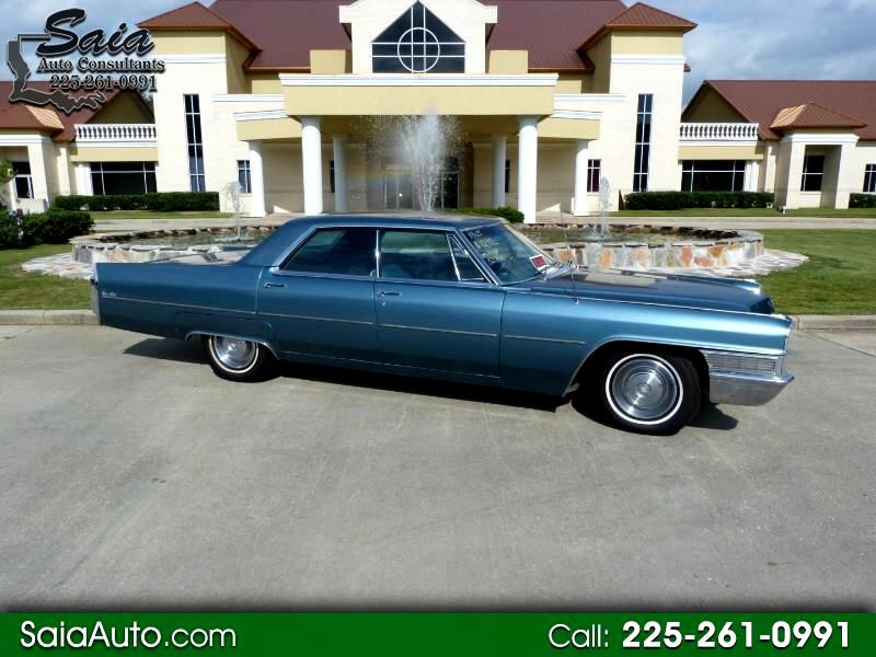 1966 Cadillac DeVille 4dr Sdn