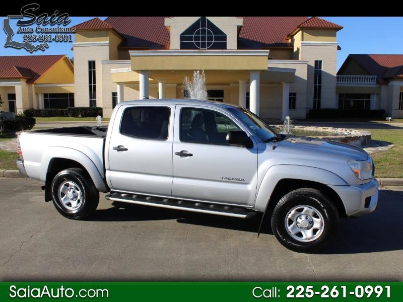 Toyota Tacoma 2WD Double Cab I4 AT SR5 (Natl) 2012