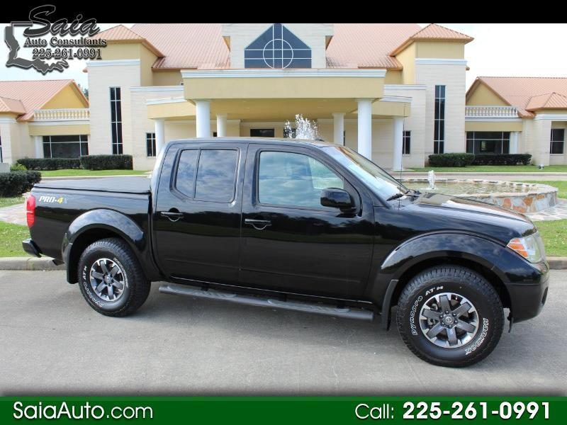 Nissan Frontier PRO-4X Crew Cab 4WD 2014