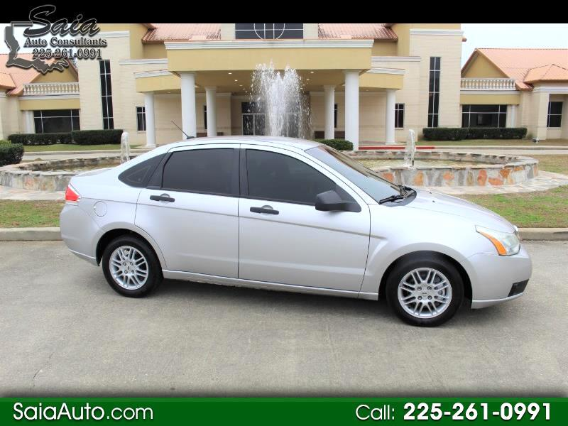 Ford Focus SE Sedan 2010