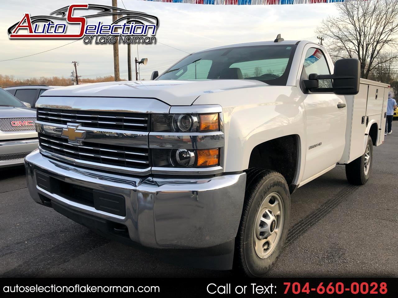 2016 Chevrolet Silverado 2500HD Work Truck Utility Bed