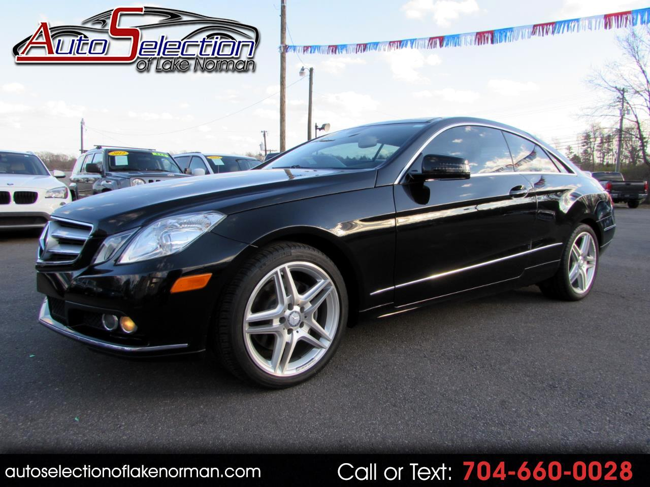 2011 Mercedes-Benz E-Class E350 Coupe AMG Appearance Package