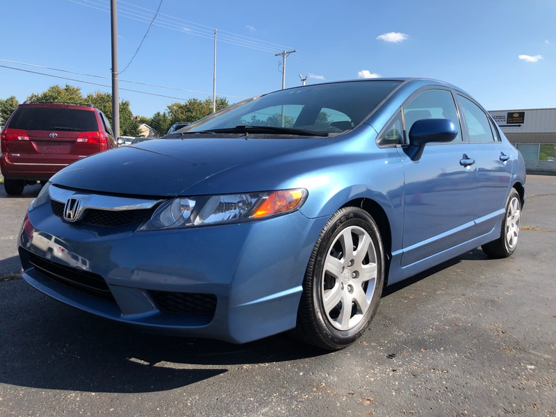 2011 Honda Civic 4dr Sdn LX Auto w/Side Airbags
