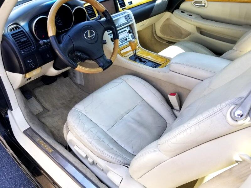 2002 Lexus SC 430 Convertible