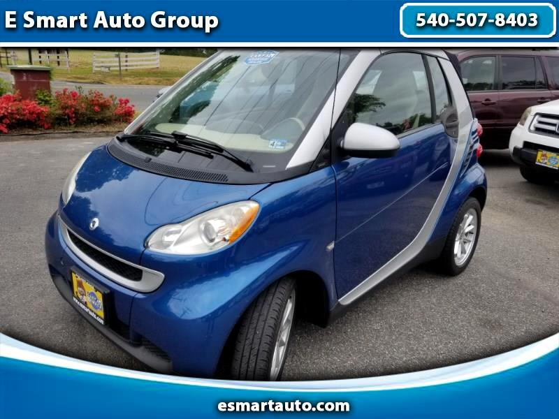 2008 smart Fortwo passion cabriolet