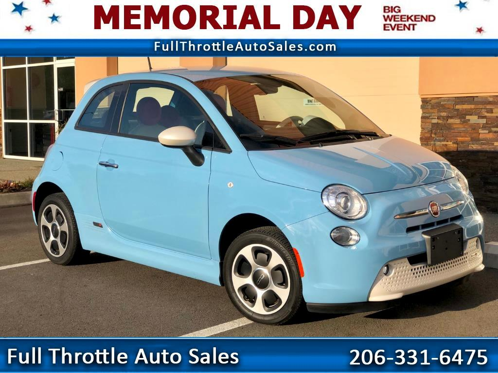 2015 Fiat 500e BATTERY ELECTRIC 2dr HB