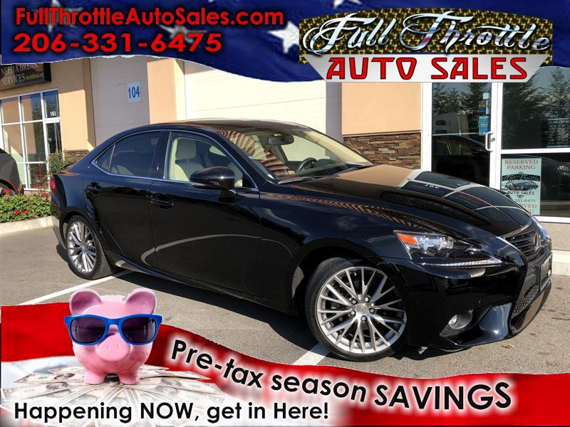 2015 Lexus IS 250 4dr Sport Sdn Auto RWD