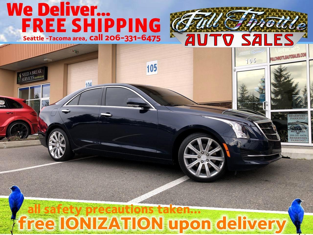 Cadillac ATS 2.0L Luxury AWD 2017