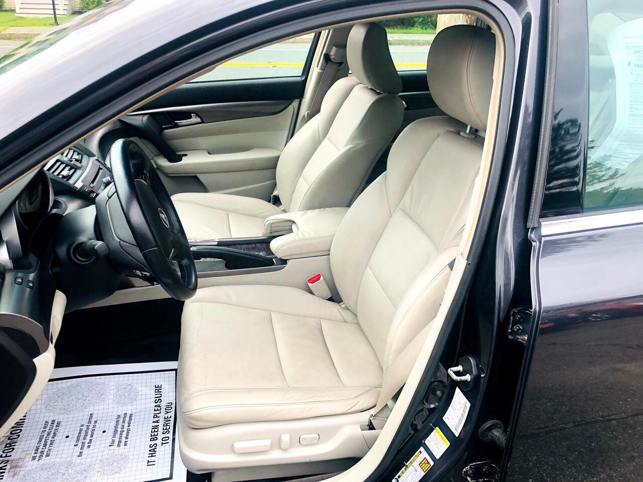 2012 Acura TL 6-Speed AT