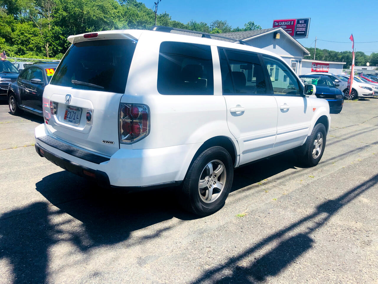 Used 2008 Honda Pilot Ex L 4wd W Dvd For Sale In Whitman