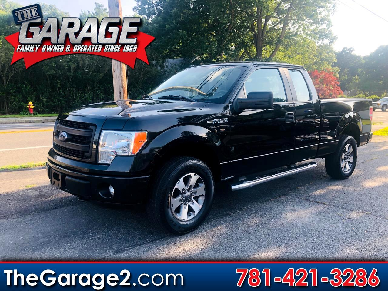 Ford F-150 STX SuperCab 4WD 2013