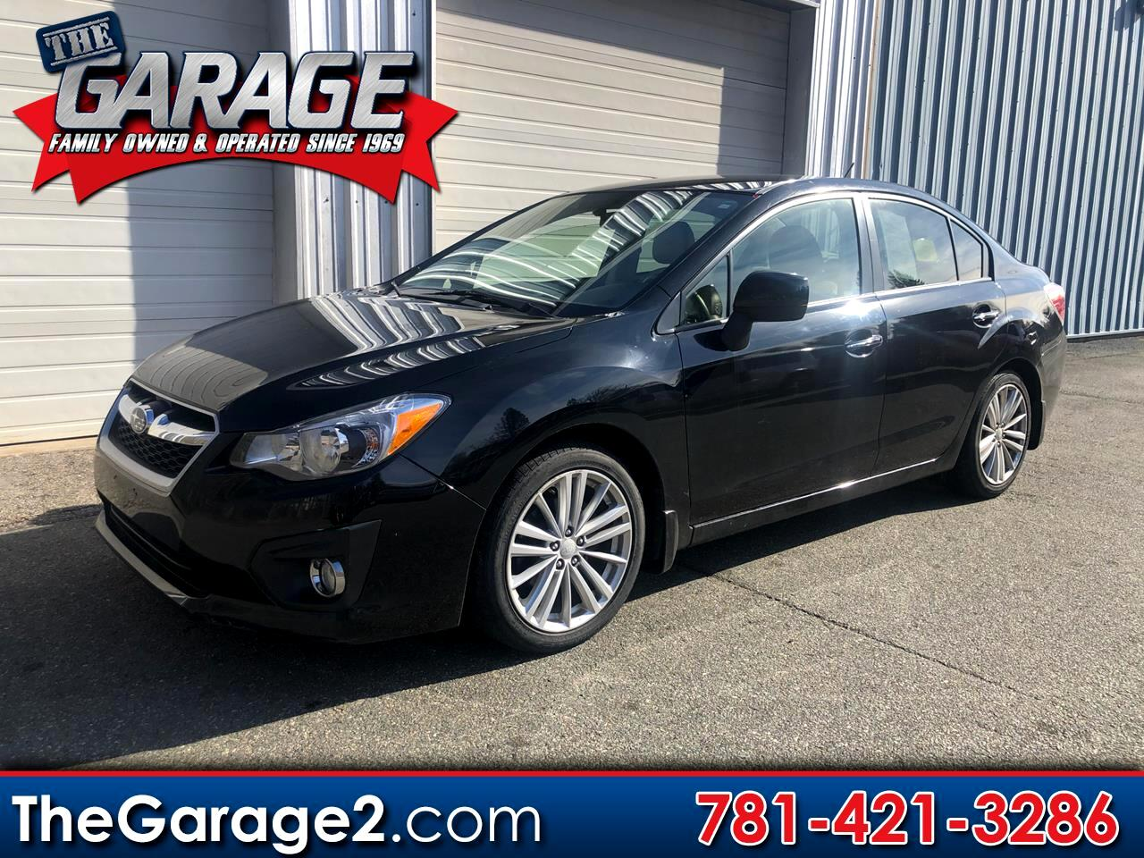 Subaru Impreza Limited 4-Door 2012