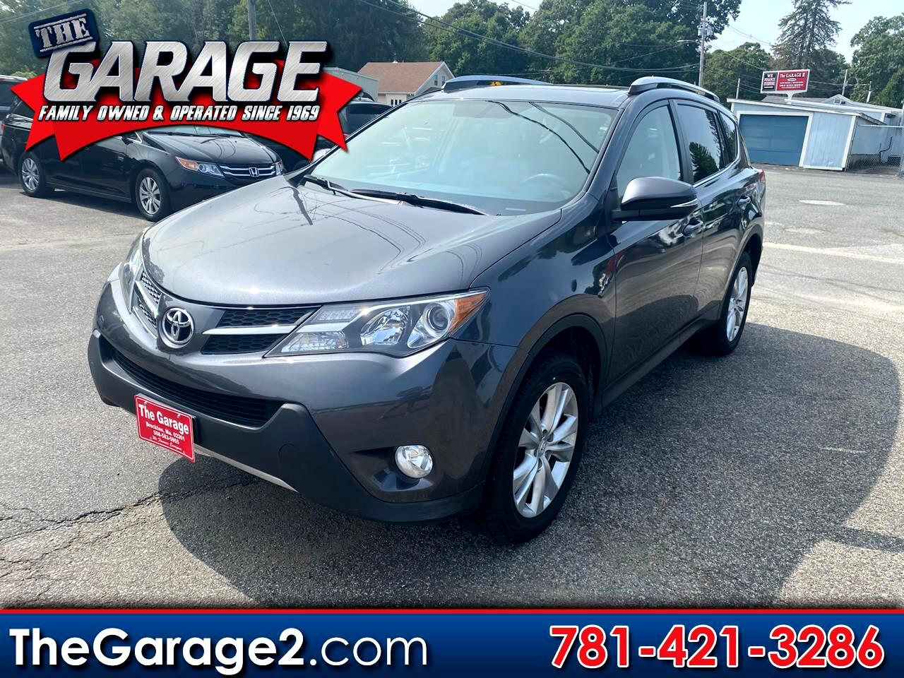 Toyota RAV4 Limited AWD 2015