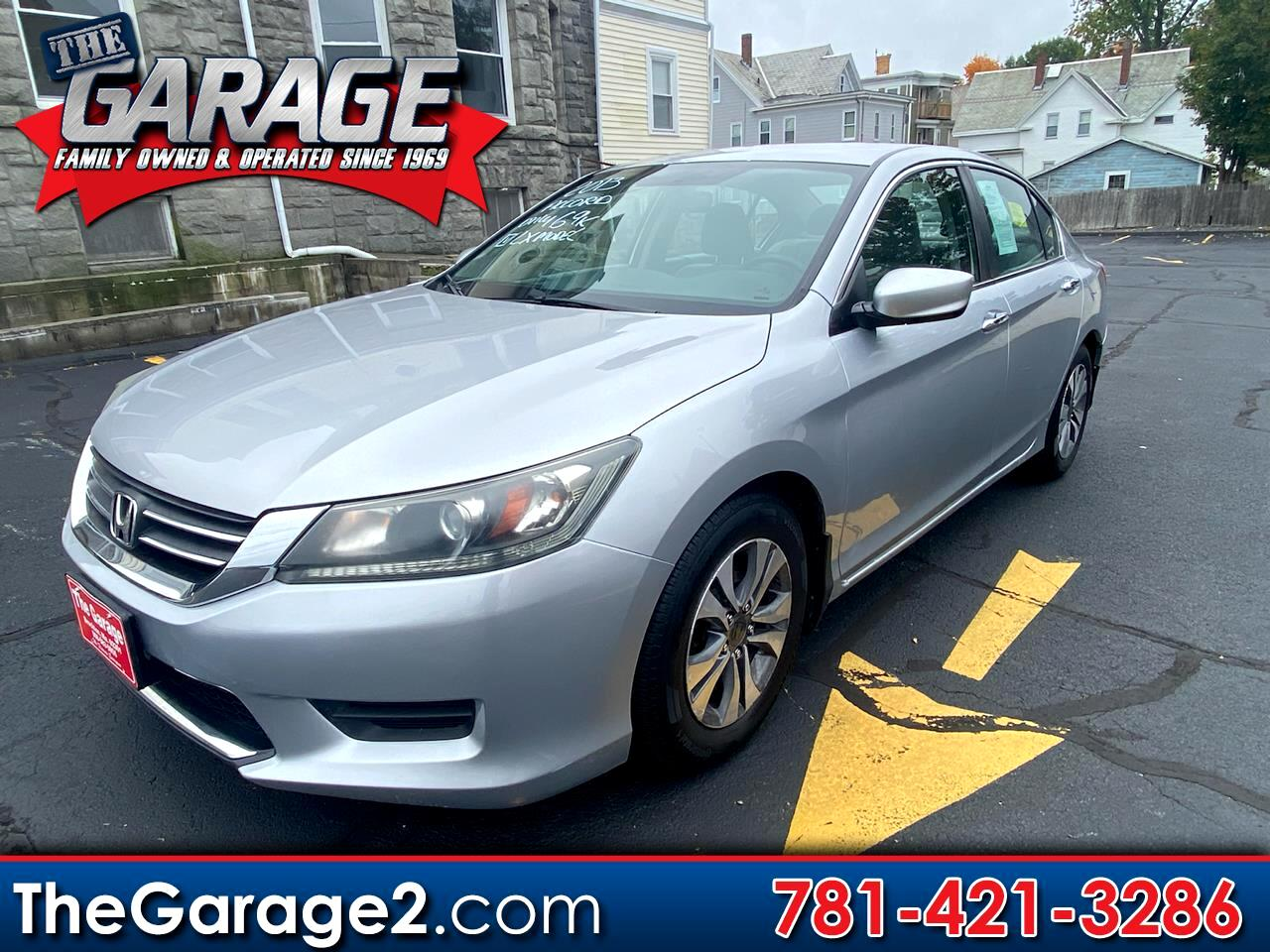 Honda Accord 4dr Sedan LX Auto 2013