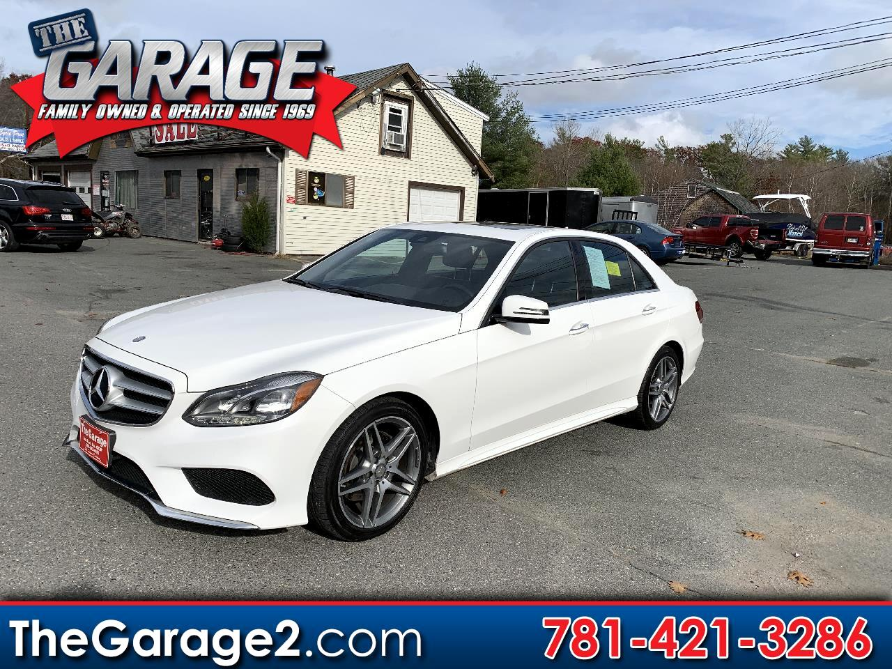 Mercedes-Benz E-Class E350 Sport 4MATIC Sedan 2016