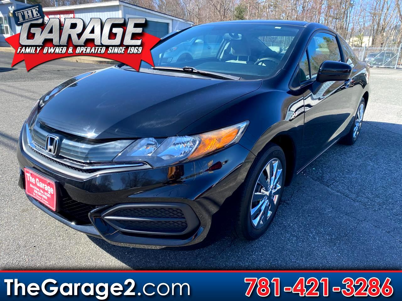 Honda Civic Coupe 2dr CVT LX 2014