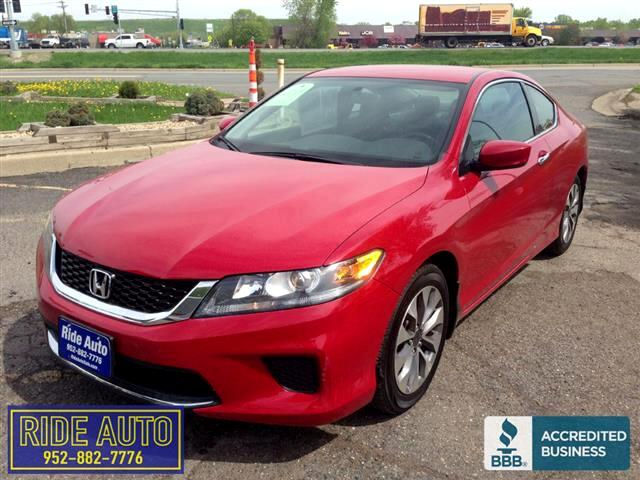 2015 Honda Accord LS-X, 2 door coupe, 4cyl, ONLY 7,000 MILES !!!