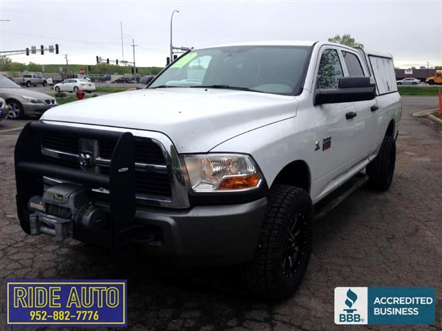 2010 Dodge Ram 2500 Crew cab 4dr, SHORT BOX, 4x4, CUMMINS DIESEL
