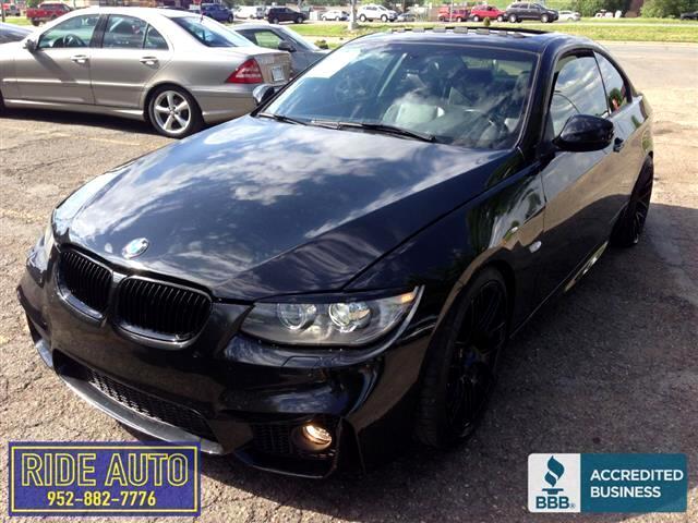 2012 BMW 335i Twin turbo 6cyl, 6 speed, JET BLACK