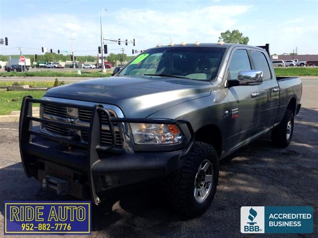 2011 Dodge Ram 2500 SLT, Crew cab 4dr, SHORT BOX, 4x4, Cummins Diesel
